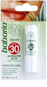 Babaria Aloe Vera balzám na rty SPF30