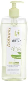 Babaria Aloe Vera dámský sprchový gel pro intimní hygienu s aloe vera
