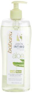 Babaria Aloe Vera gel douche de toilette intime pour femme à l'aloe vera