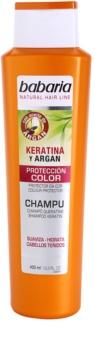 Babaria Argan Shampoo voor Kleurbescherming  met Keratine en Argan