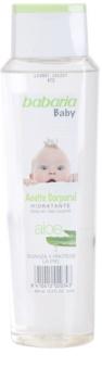 Babaria Baby nawilżający olejek do ciała dla dzieci
