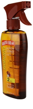 Babaria Sun Bronceadora Zonnebrandolie Spray SPF 2