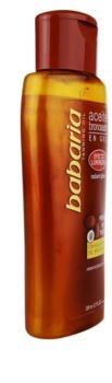Babaria Sun Bronceadora óleo cintilante para enfatizar o bronzeado