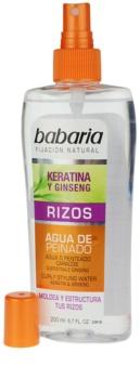 Babaria Ginseng стилизиращ спрей за чуплива коса
