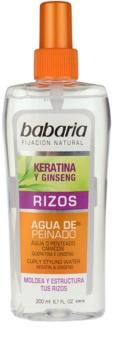 Babaria Ginseng stylingový sprej pre vlnité vlasy