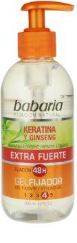 Babaria Ginseng gel na vlasy extra silné zpevnění