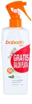 Babaria Sun Infantil Kinder Bruiningsspray  SPF 50