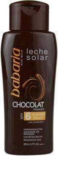 Babaria Sun Leche Solar losjon za sončenje s čokolado