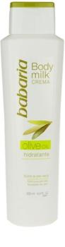 Babaria Olive tělové mléko s olivovým olejem