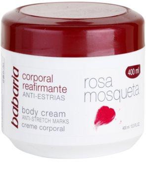 Babaria Rosa Mosqueta crème corporelle raffermissante à l'extrait de rosier des chiens