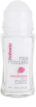 Babaria Rosa Mosqueta Roll-On Deodorant  With Extracts Of Wild Roses