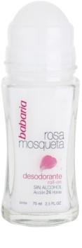 Babaria Rosa Mosqueta roll-on dezodor csipkerózsa kivonattal