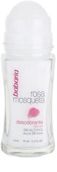 Babaria Rosa Mosqueta дезодорант кульковий з екстрактом шипшини
