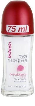 Babaria Rosa Mosqueta dezodorant roll-on s výťažkom zo šípovej ruže