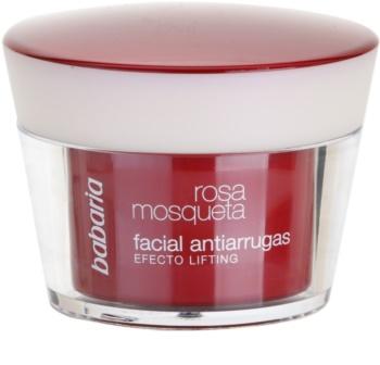 Babaria Rosa Mosqueta creme antirrugas com efeito lifting