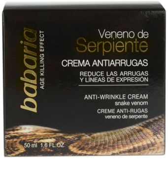 Babaria Snake Venom Day And Night Anti - Wrinkle Cream With Snake Poison