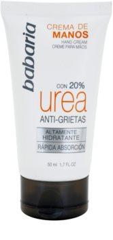 Babaria Urea crema per le mani effetto antirughe