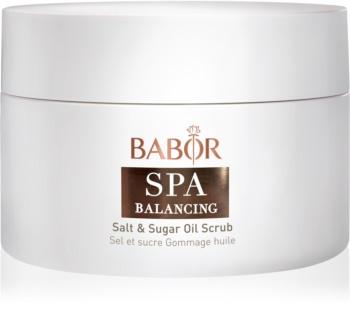 Babor Spa Balancing Zucker-Salz Peeling mit Öl