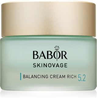 Babor Skinovage Balancing nährende und feuchtigkeitsspendende Creme für fettige und Mischhaut