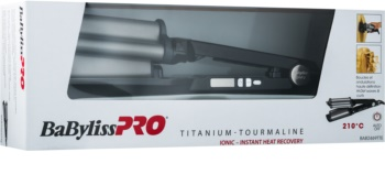 BaByliss PRO Hi-Def Waver BAB2469TTE Triple Barrel Curling Iron for Hair