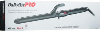 BaByliss PRO Titanium Diamond Extra Long hajsütővas a hosszú hajra