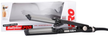 BaByliss PRO Babyliss Pro Curling Iron Ionic 3D Waver 2369TTE modelador para onda tripla