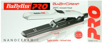 BaByliss PRO Babyliss Pro Straighteners Baby Crimp 2151E  kreppelő hajvasaló