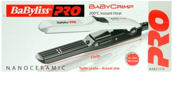 BaByliss PRO Straighteners Baby Crimp 2151E  kreppelő hajvasaló