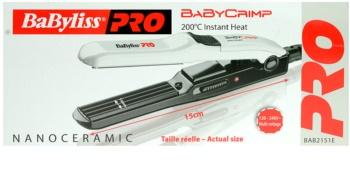 BaByliss PRO Straighteners Baby Crimp 2151E  modelador para ondular o cabelo