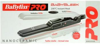 BaByliss PRO Babyliss Pro Straighteners Baby Sleek 2050E micropiastra per capelli