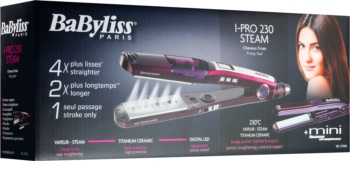 BaByliss I-PRO 230 Steam I-PRO Steam Steam Iron for Hair