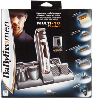 BaByliss For Men Multi 10 Titanium tondeuse cheveux et barbe