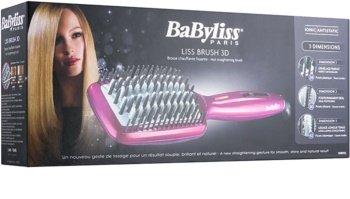 BaByliss Liss Brush 3D HSB100E četka za ravnanje kose za kosu