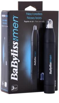 BaByliss For Men E650E aparador de pêlos do nariz