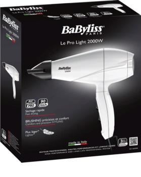 BABYLISS LE PRO LIGHT 2000W 6604WE fén na vlasy  3326a9a7233