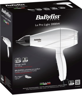 BaByliss Le Pro Light 2000W 6604WE secador de pelo