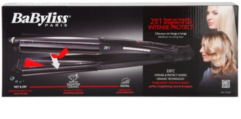 BaByliss Stylers 2 in 1 Straighten or Curl преса и маша за коса 2 в 1