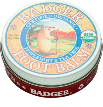 Badger Balm Deep Hydrating Balm for Dry Cracked Feet