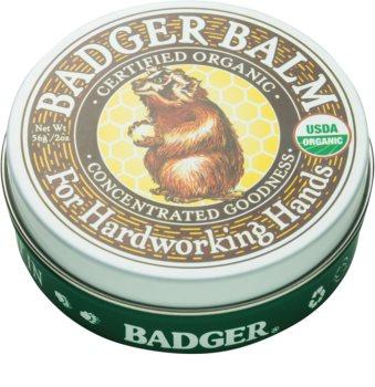 Badger Balm омекотяващ балсам за ръце за суха кожа