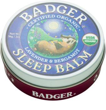 Badger Sleep balsamo per conciliare il sonno