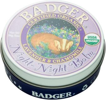 Badger Night Night balsamo per conciliare il sonno