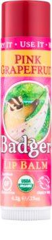 Badger Classic Pink Grapefruit бальзам для губ