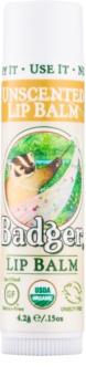 Badger Classic Unscented balsam de buze