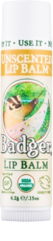 Badger Classic Unscented balzam na pery