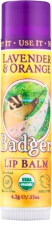 Badger Classic Lavender & Orange balsam de buze