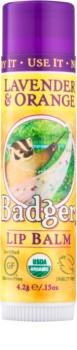 Badger Classic Lavender & Orange balzam na pery