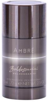 Baldessarini Ambré déodorant stick pour homme 75 ml