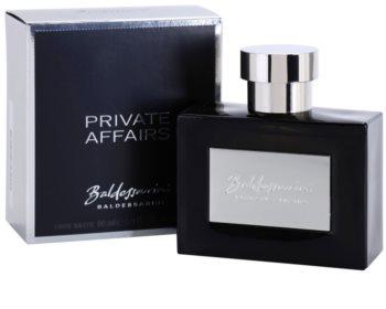Baldessarini Private Affairs toaletní voda pro muže 90 ml