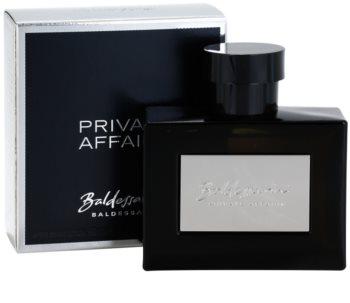 Baldessarini Private Affairs after shave pentru bărbați 90 ml