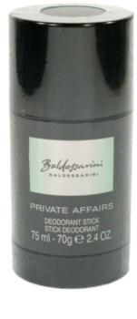 Baldessarini Private Affairs desodorizante em stick para homens 75 ml